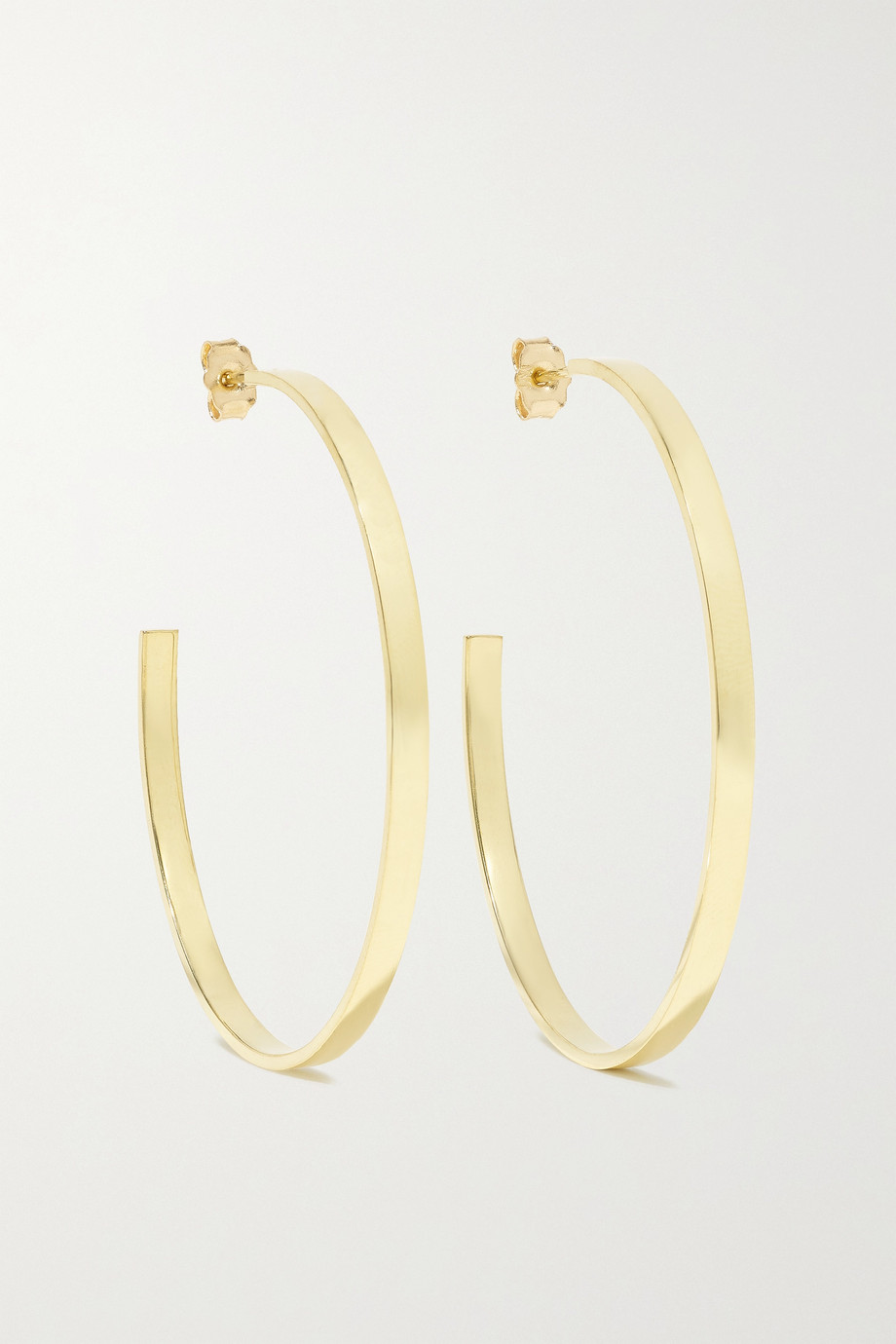 Jennifer Meyer Ellen Medium 18-karat gold hoop earrings