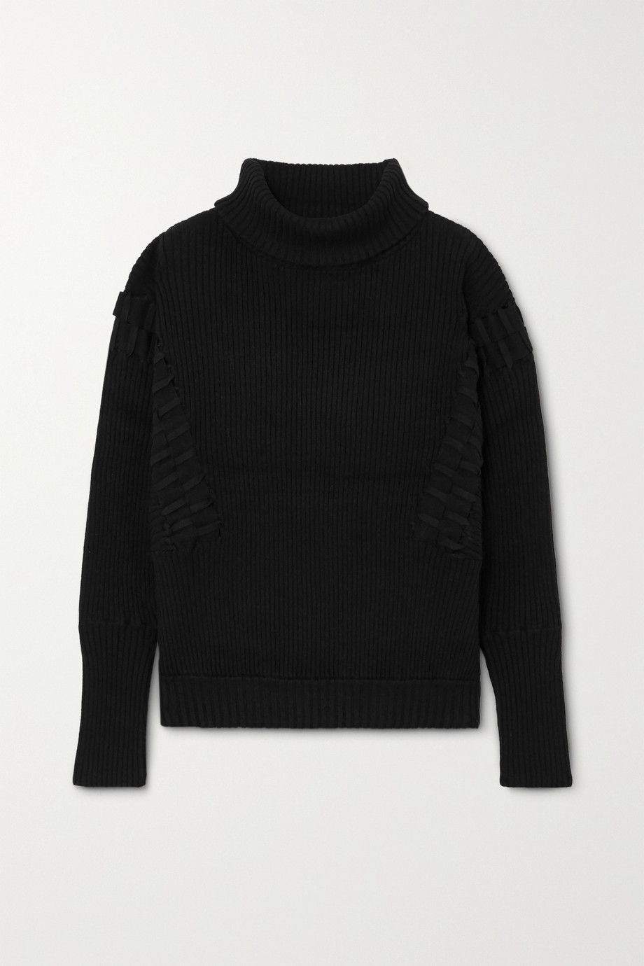 palmer//harding Ateli ribbed cotton and cashmere-blend turtleneck sweater