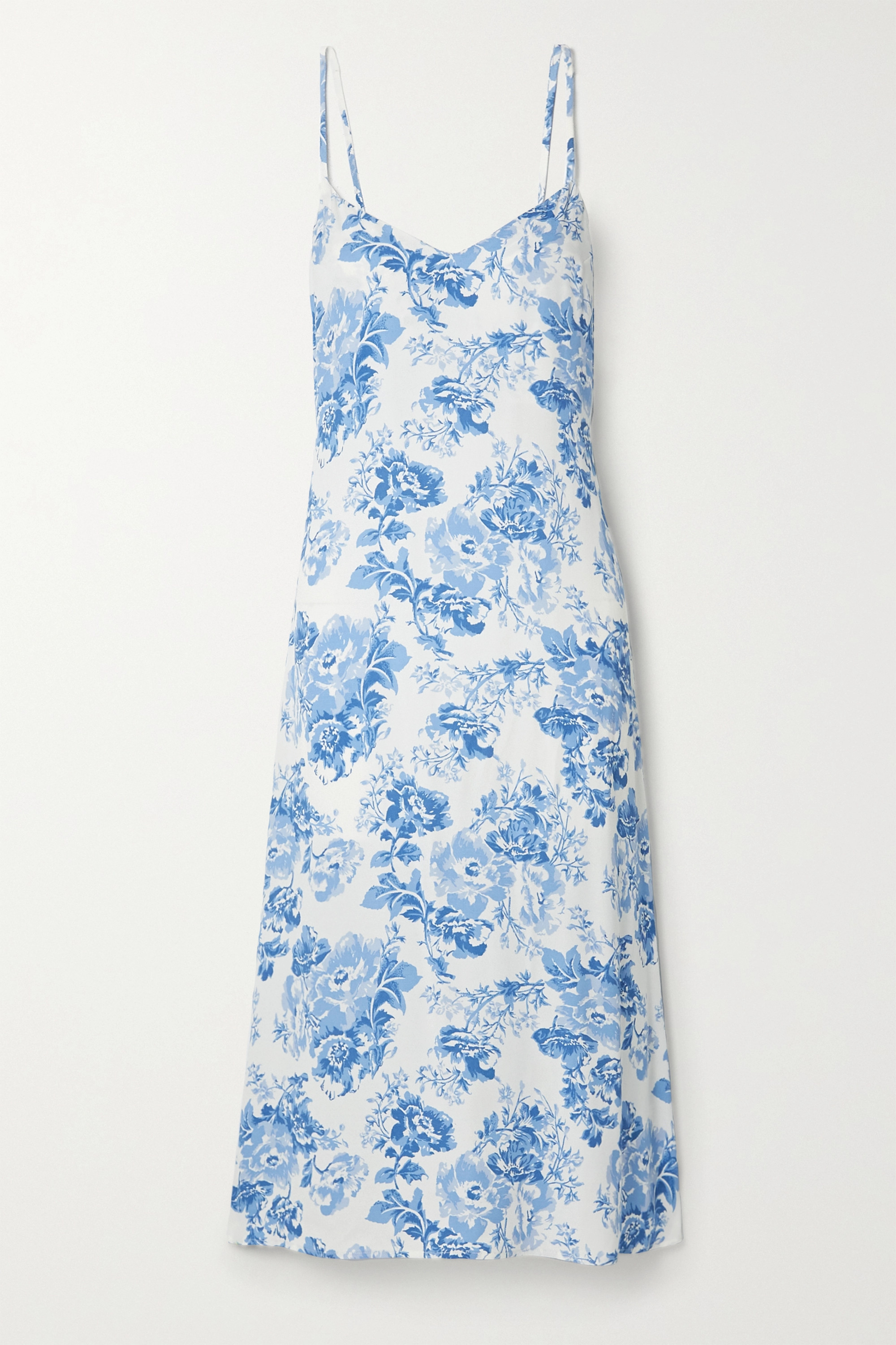 Reformation Chianti floral-print crepe midi dress
