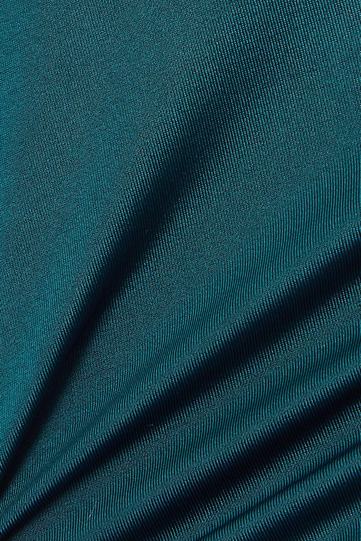 Dora Larsen Ivy open-back lace-trimmed stretch-satin underwired bodysuit
