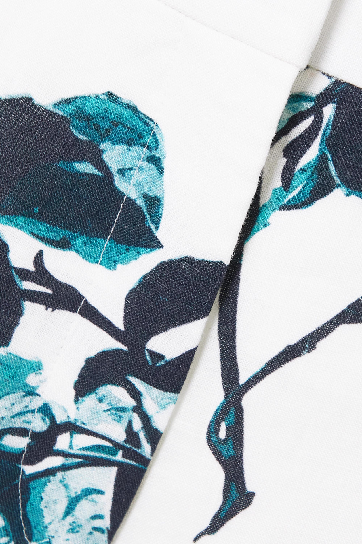 Erdem Mouna Culottes aus Leinen mit Blumenprint