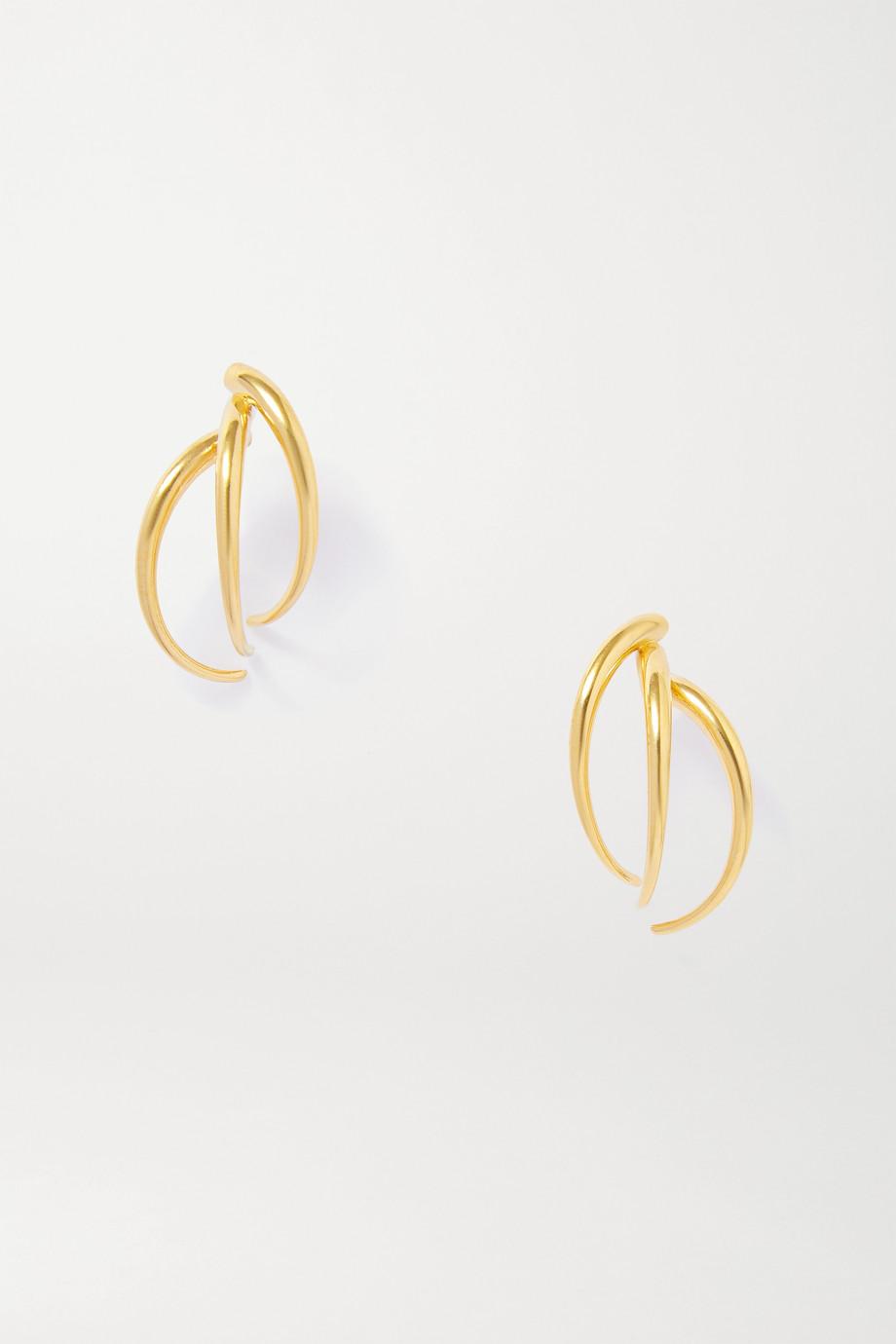 SARAH & SEBASTIAN Stinger Ohrringe aus Gold-Vermeil