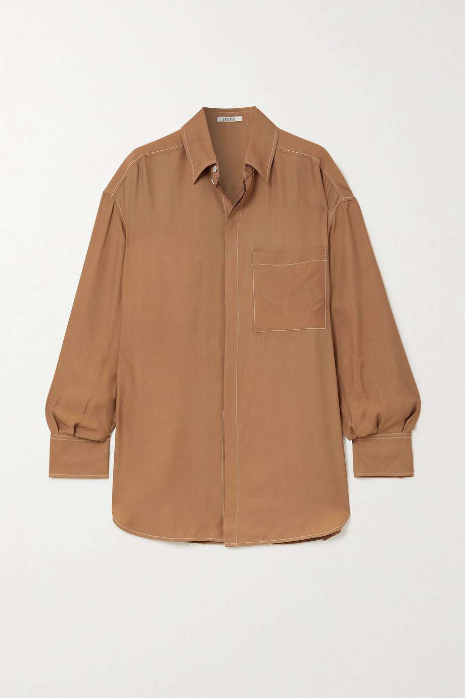 GAUCHERE Rim 斜纹布衬衫