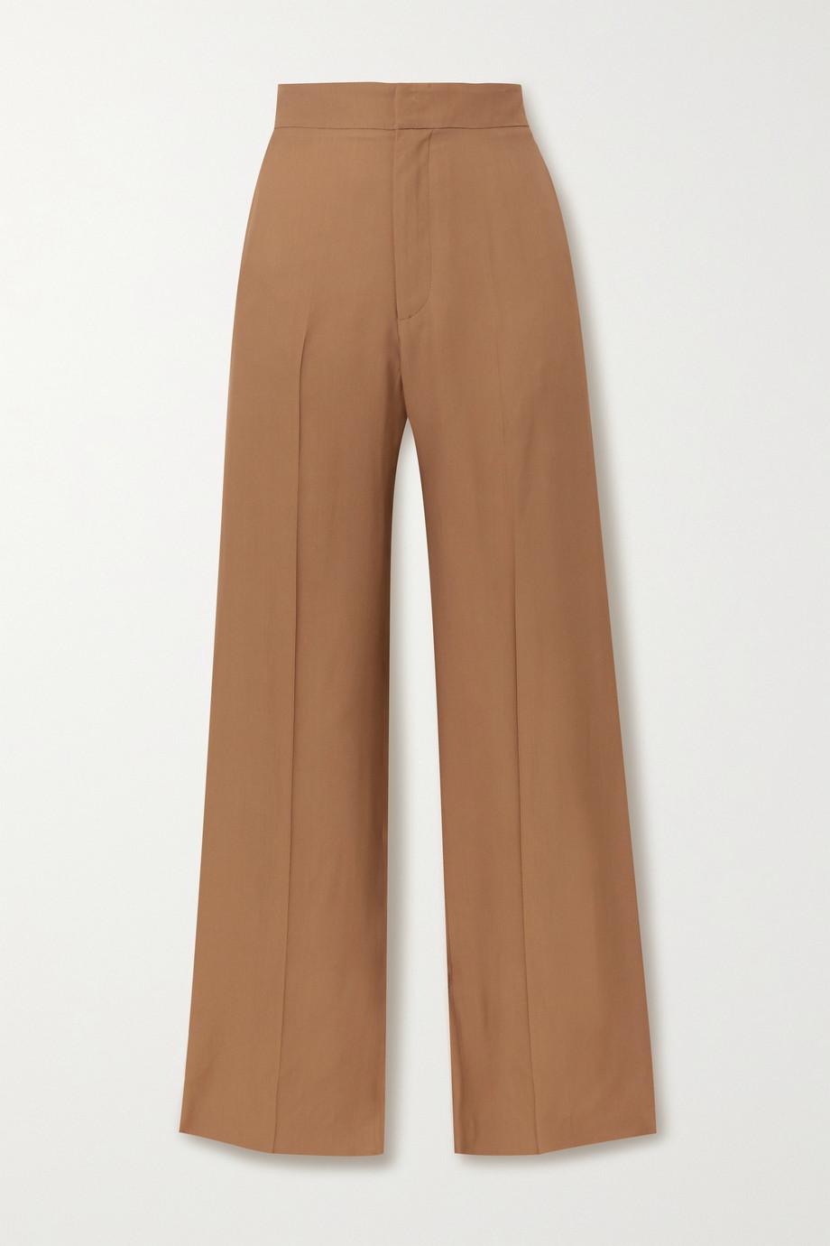 GAUCHERE Rilla twill straight-leg pants