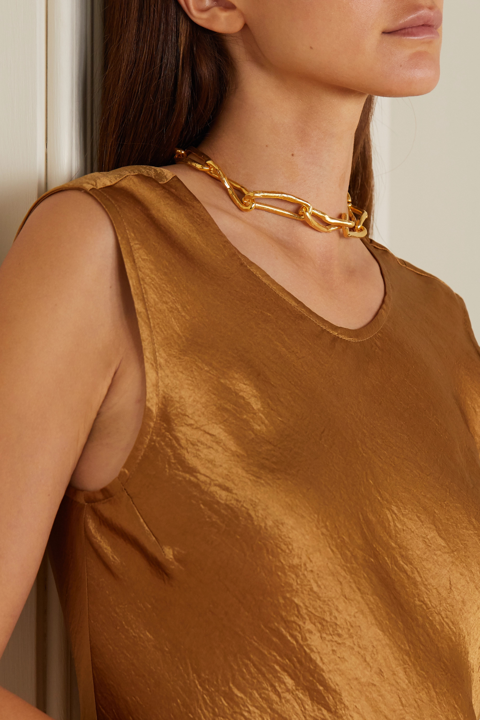 Alighieri The Wasteland gold-plated necklace