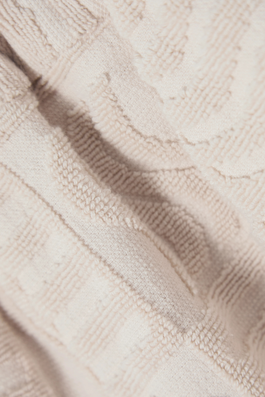 Lucy Folk Cabana cotton-terry shorts