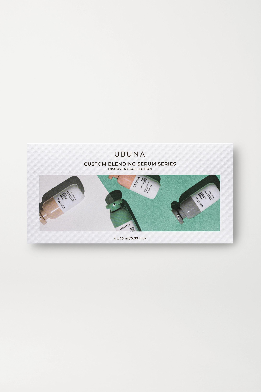 Ubuna Beauty Discovery Set, 4 x 10ml