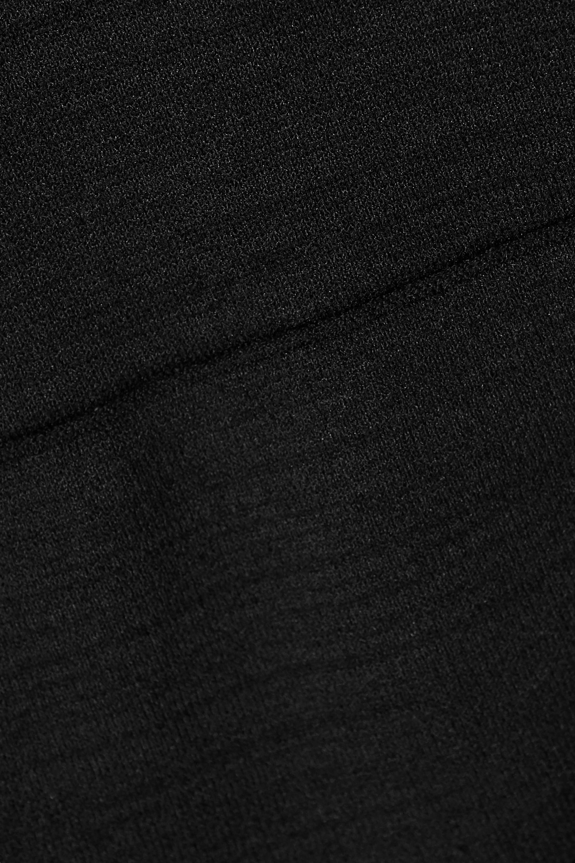Proenza Schouler Maxikleid aus Stretch-Strick mit Cut-outs und asymmetrischer Schulterpartie