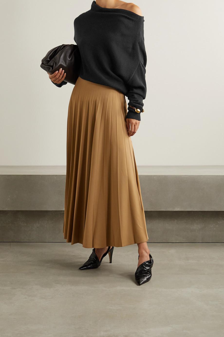 Proenza Schouler Oversized off-the-shoulder merino wool sweater