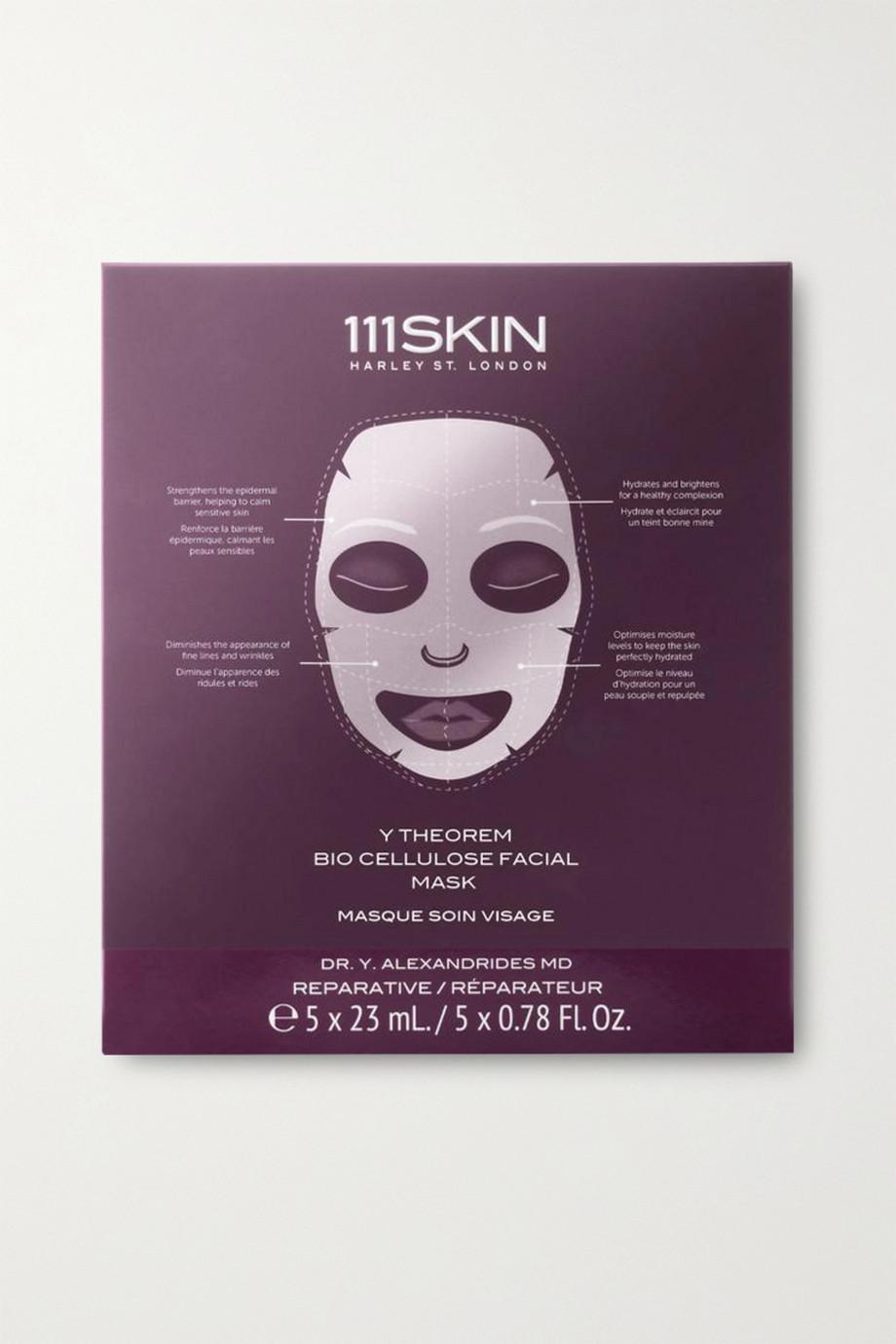 111SKIN Y Theorem Bio Cellulose Facial Mask, 5 x 23ml