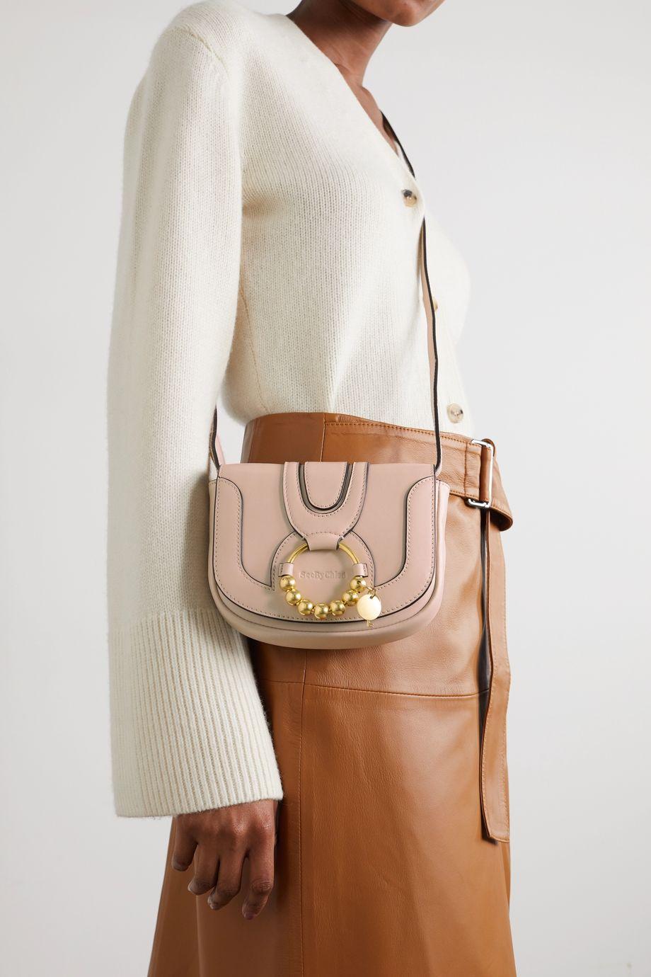 See By Chloé Hana mini embellished leather shoulder bag