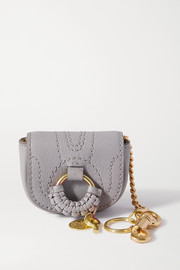See By Chloé Hana mini textured-leather bag charm
