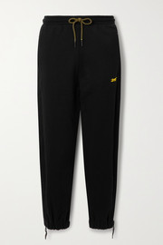 Reebok X Victoria Beckham French cotton-terry track pants