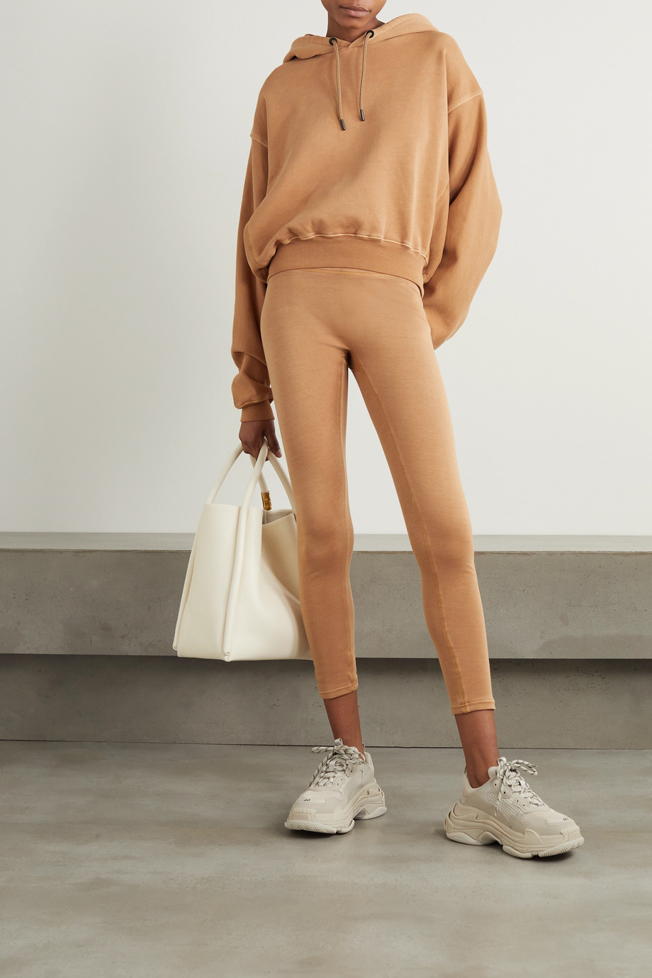 Reebok X Victoria Beckham Travel jersey leggings