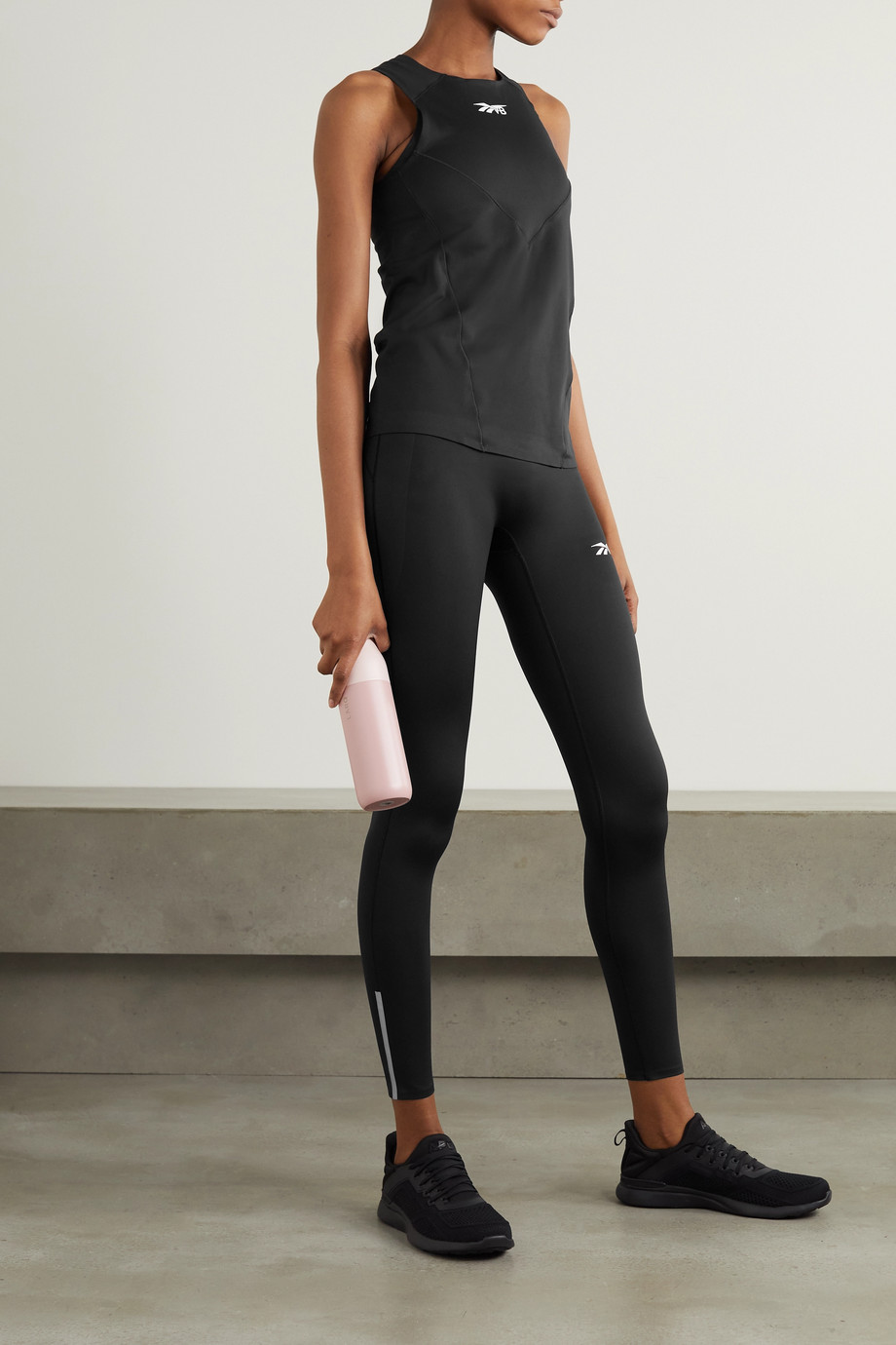 Reebok X Victoria Beckham Performance printed stretch tank
