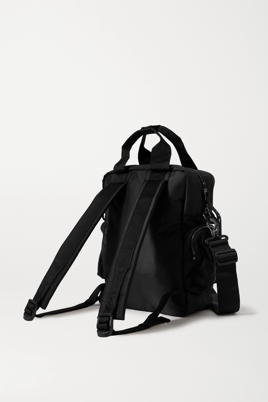 Reebok X Victoria Beckham Convertible appliquéd shell backpack