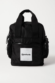Reebok X Victoria Beckham Convertible appliquéd shell backpack