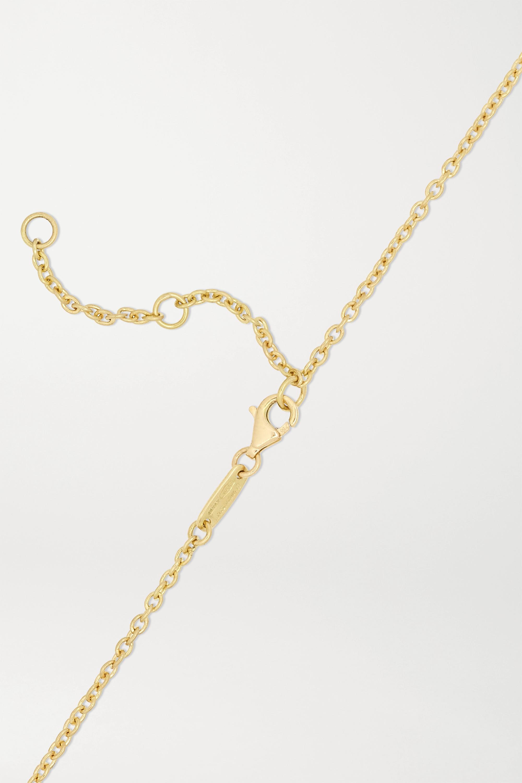 Dubini Collier en or 18 carats, bronze et péridots Capitoline-Wolf