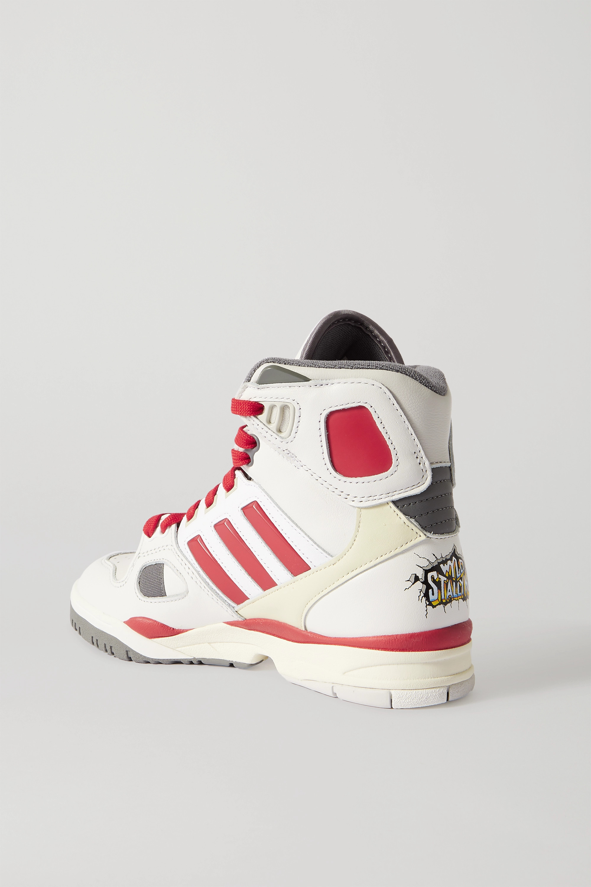 adidas Originals + Kid Cudi Torsion Artillery leather high-top sneakers