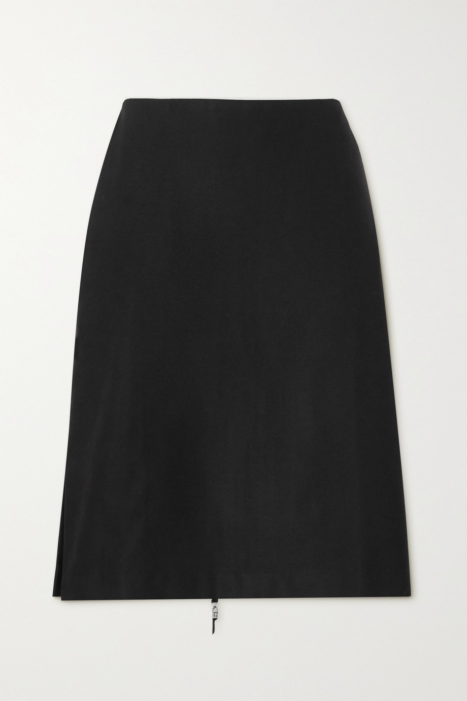 ioannes Irene zip-detailed twill skirt