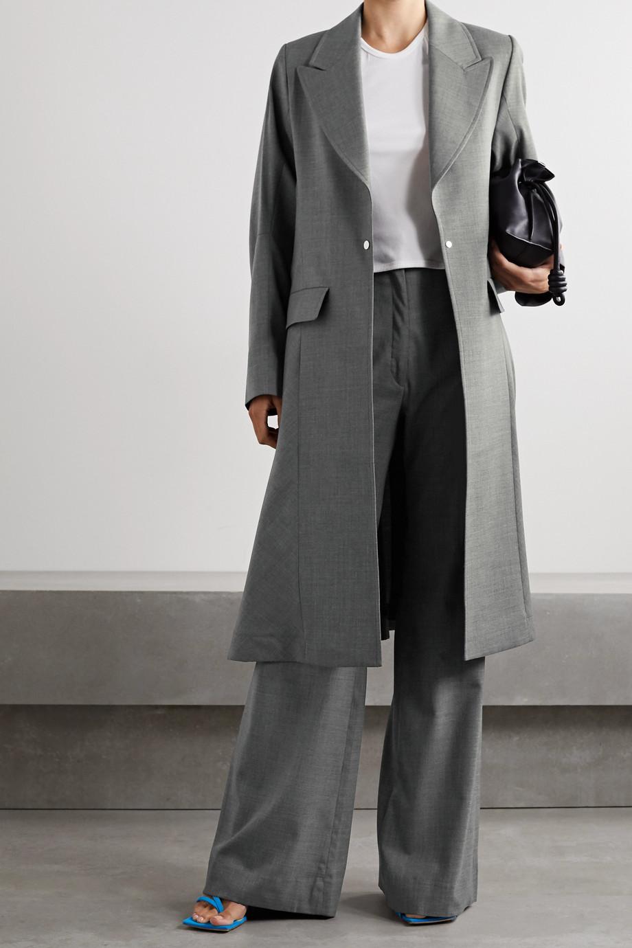 ioannes Watteau wool-blend coat