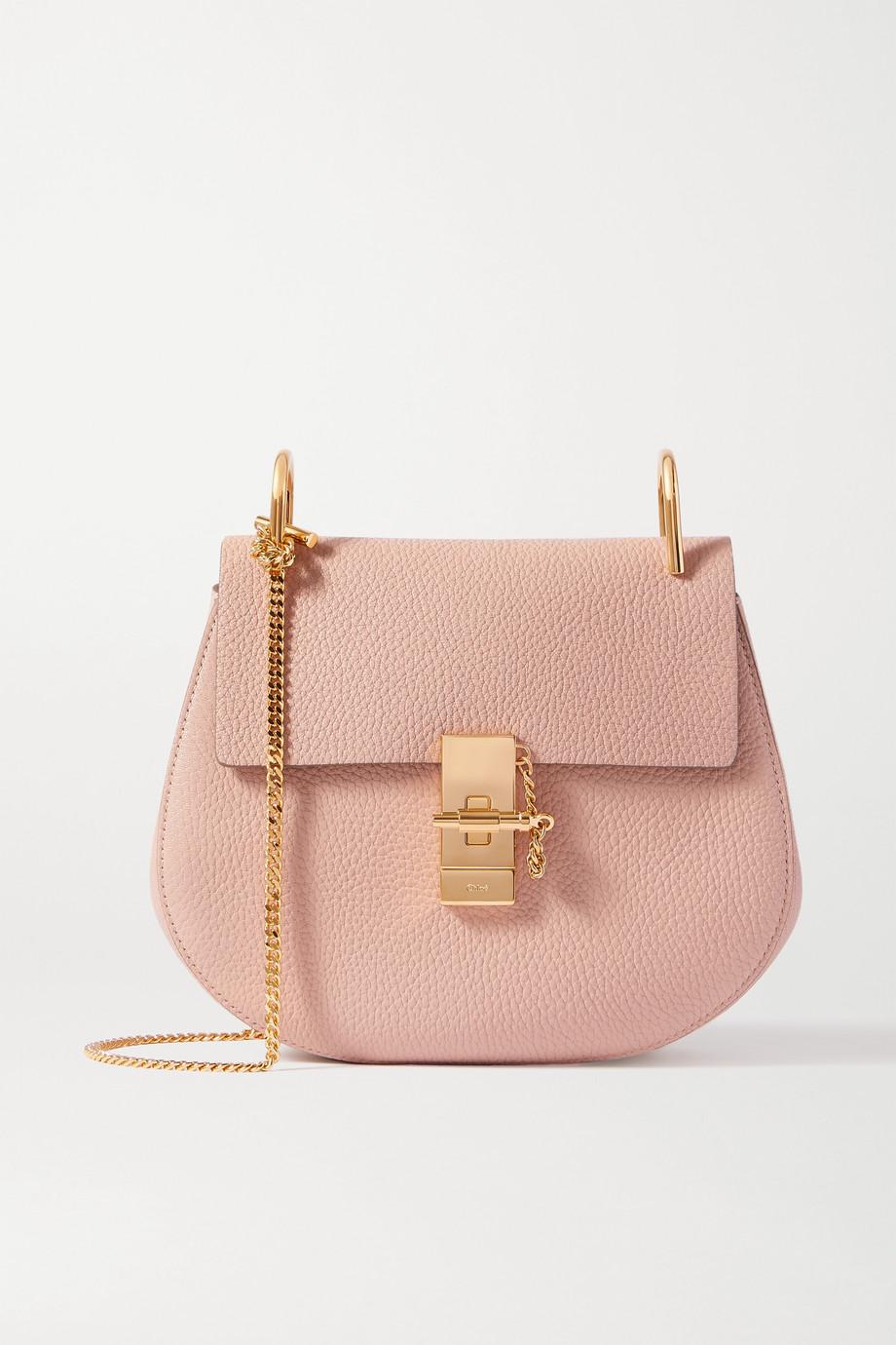 Chloé Drew textured-leather shoulder bag