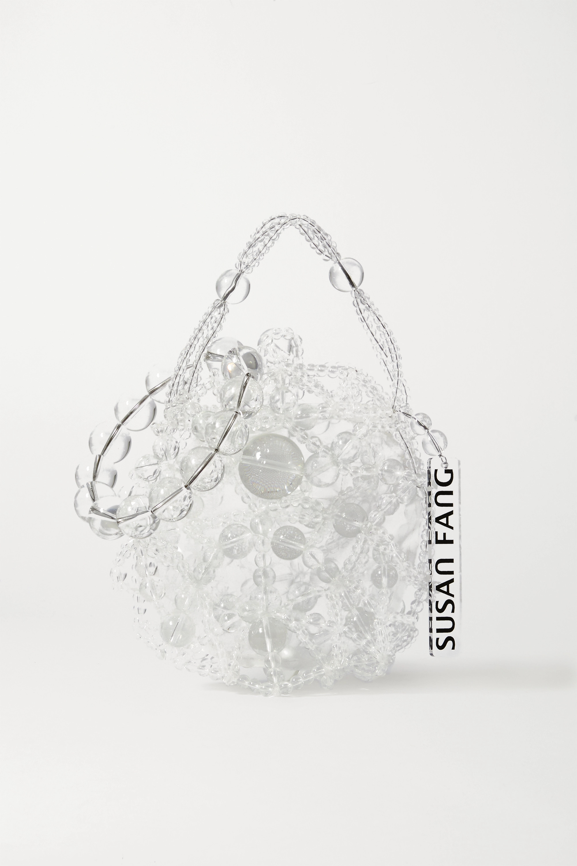 Susan Fang Bubble Tote aus Zierperlen