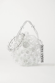 Susan Fang Bubble beaded tote