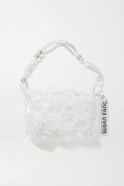 Susan Fang Bubble Net beaded tote