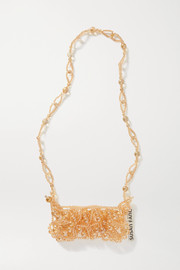 Susan Fang Bubble Phone beaded shoulder bag