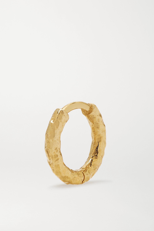 Octavia Elizabeth + NET SUSTAIN Micro Gabby Creolen aus recyceltem 18 Karat Gold