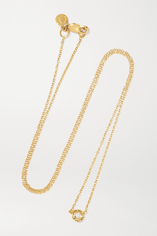Octavia Elizabeth + NET SUSTAIN Nesting Gem 18-karat gold diamond necklace