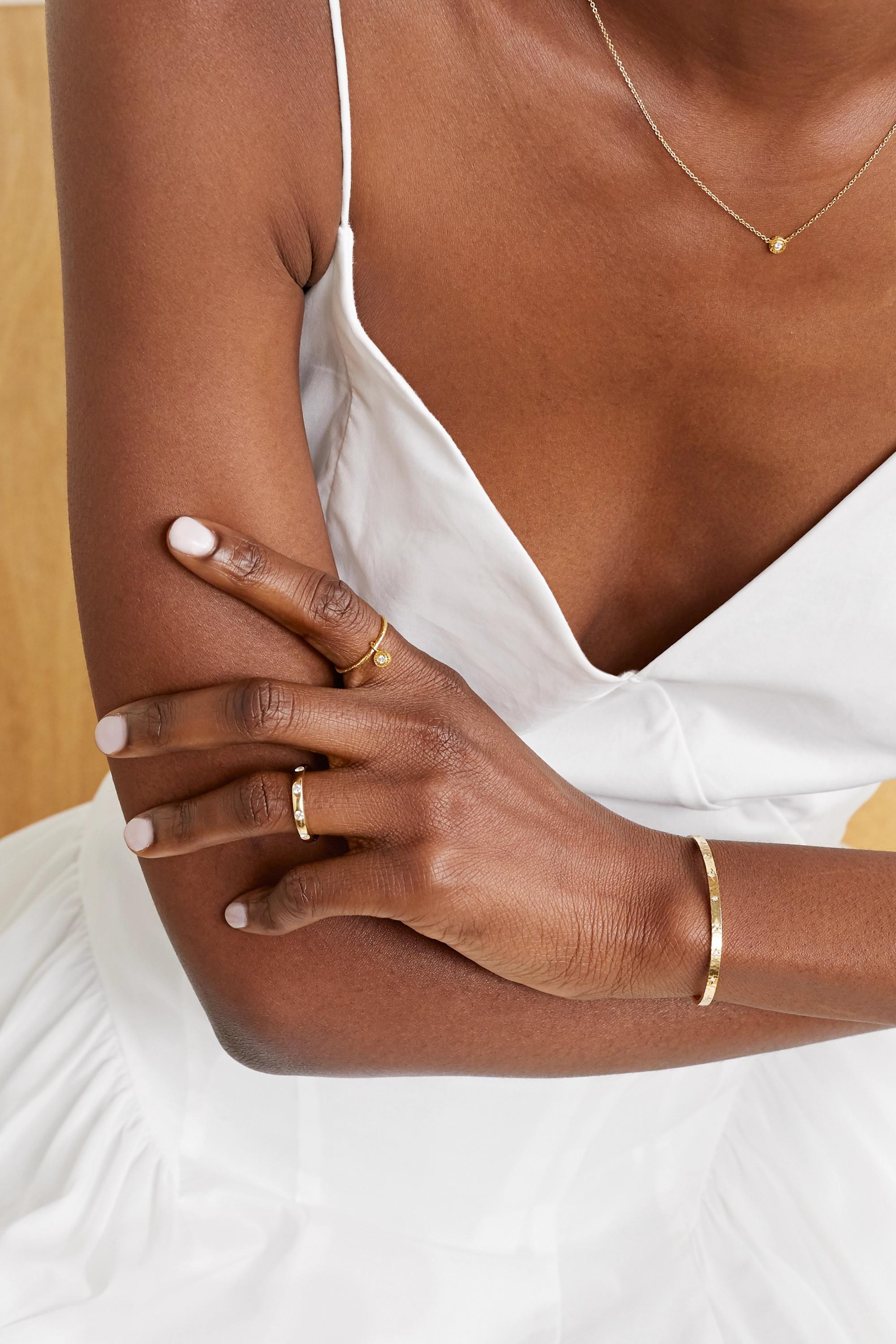 Octavia Elizabeth + NET SUSTAIN Nesting Gem 18-karat gold diamond ring