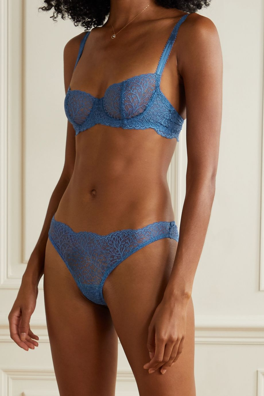 Journelle Allegra stretch-lace briefs