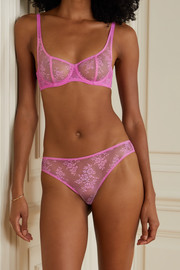 Journelle Romy lace and tulle briefs