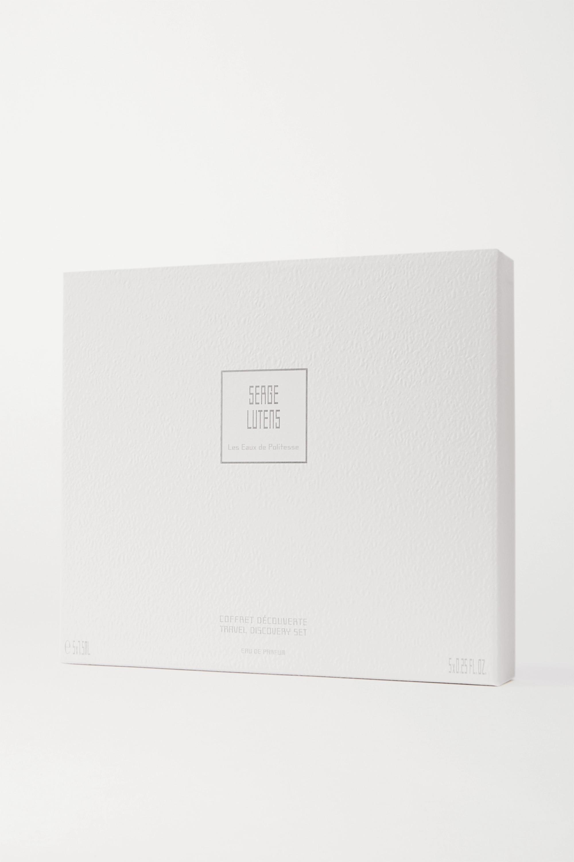 Serge Lutens Travel & Discovery Set – Les Eaux de Politesse, 5 x 7,5 ml – Parfumset