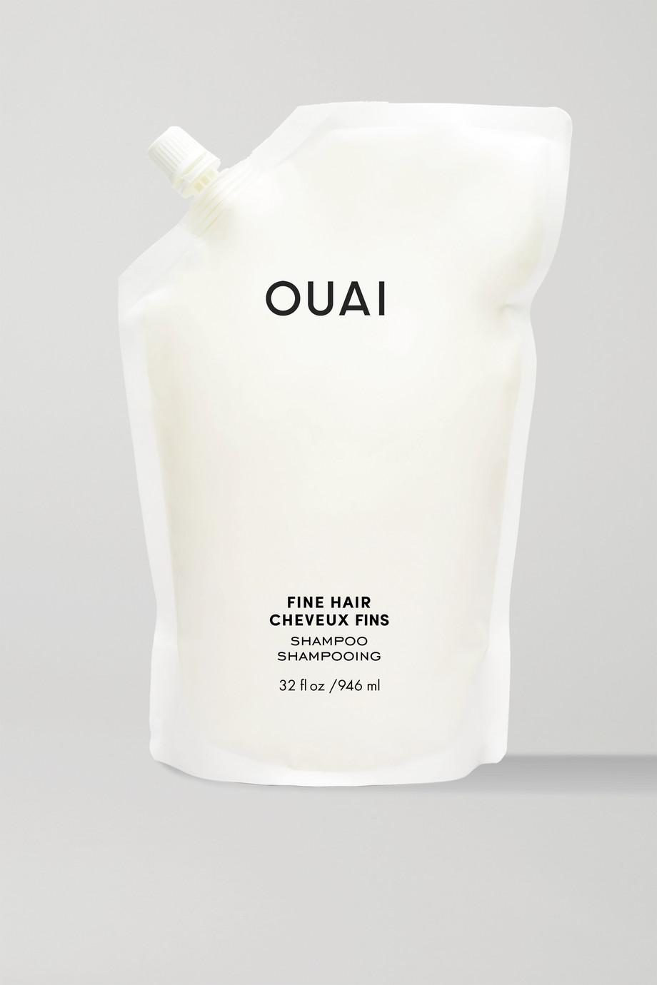 OUAI Haircare Fine Hair Shampoo Refill, 946 ml – Nachfüll-Shampoo