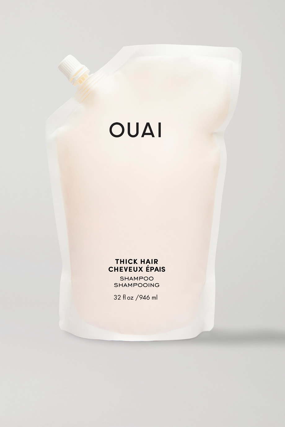 OUAI Haircare Thick Hair Shampoo Refill, 946ml