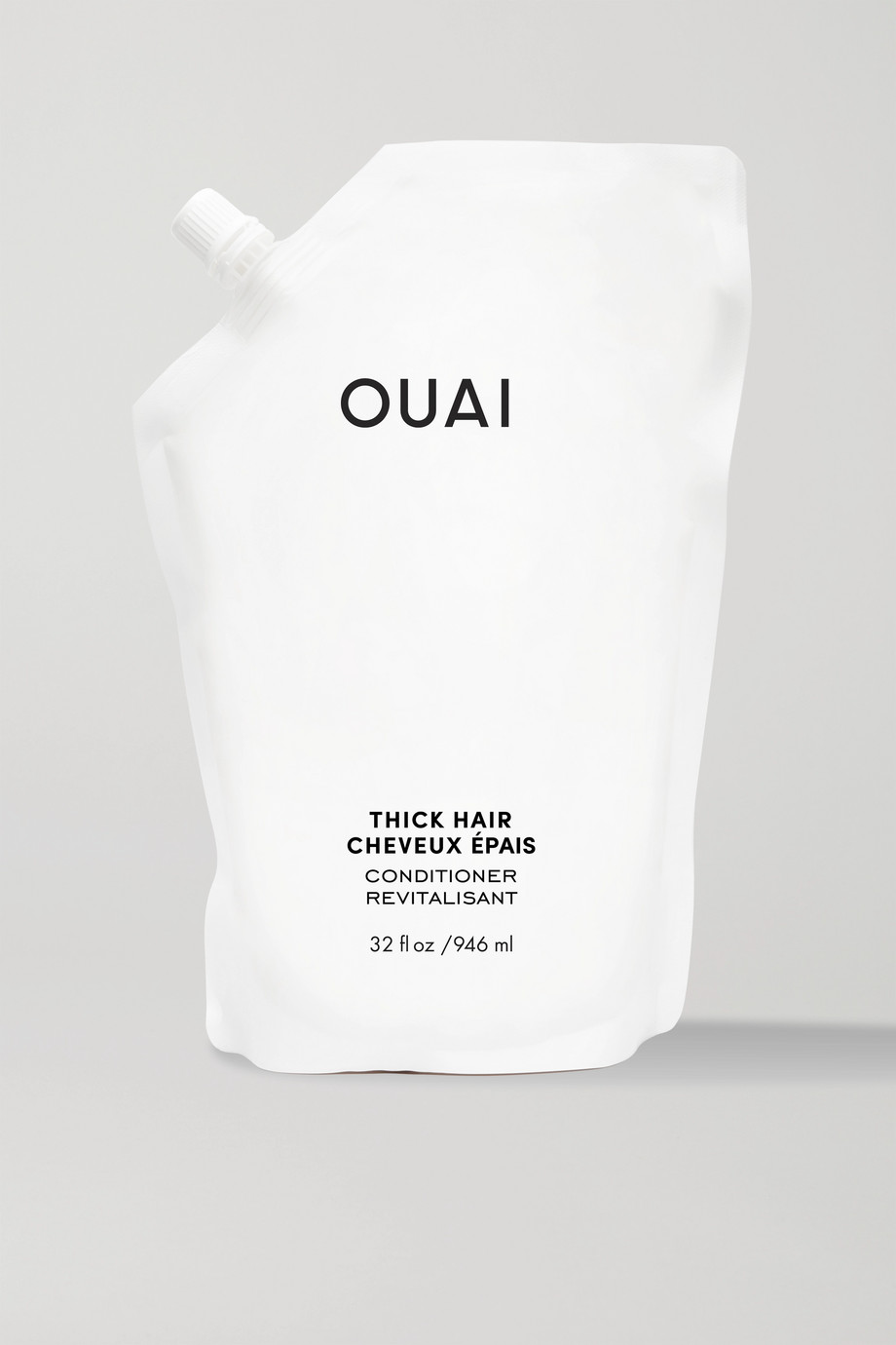 OUAI Haircare Thick Hair Conditioner Refill, 946ml