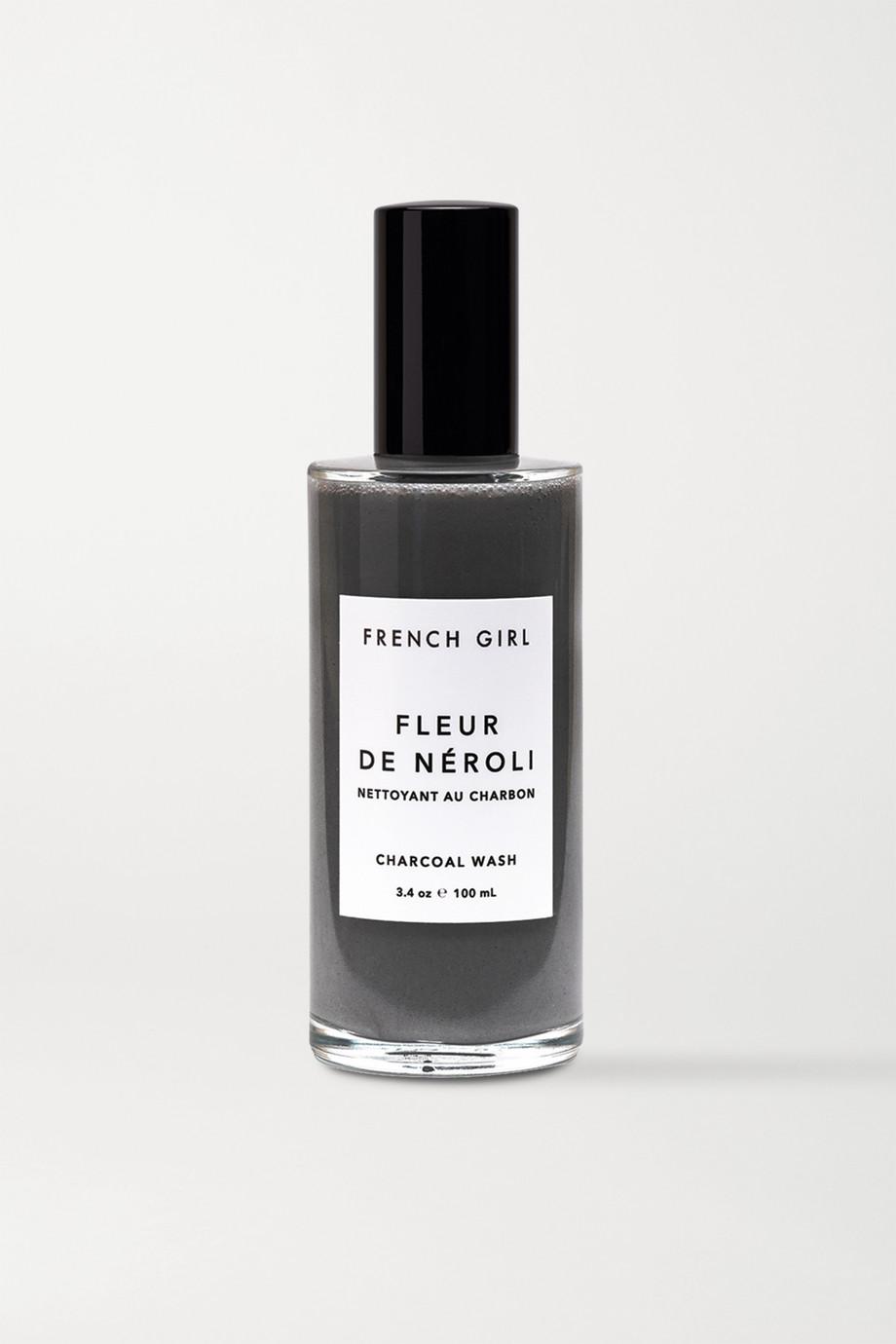 French Girl Organics Fleur De Néroli Charcoal Wash, 100ml