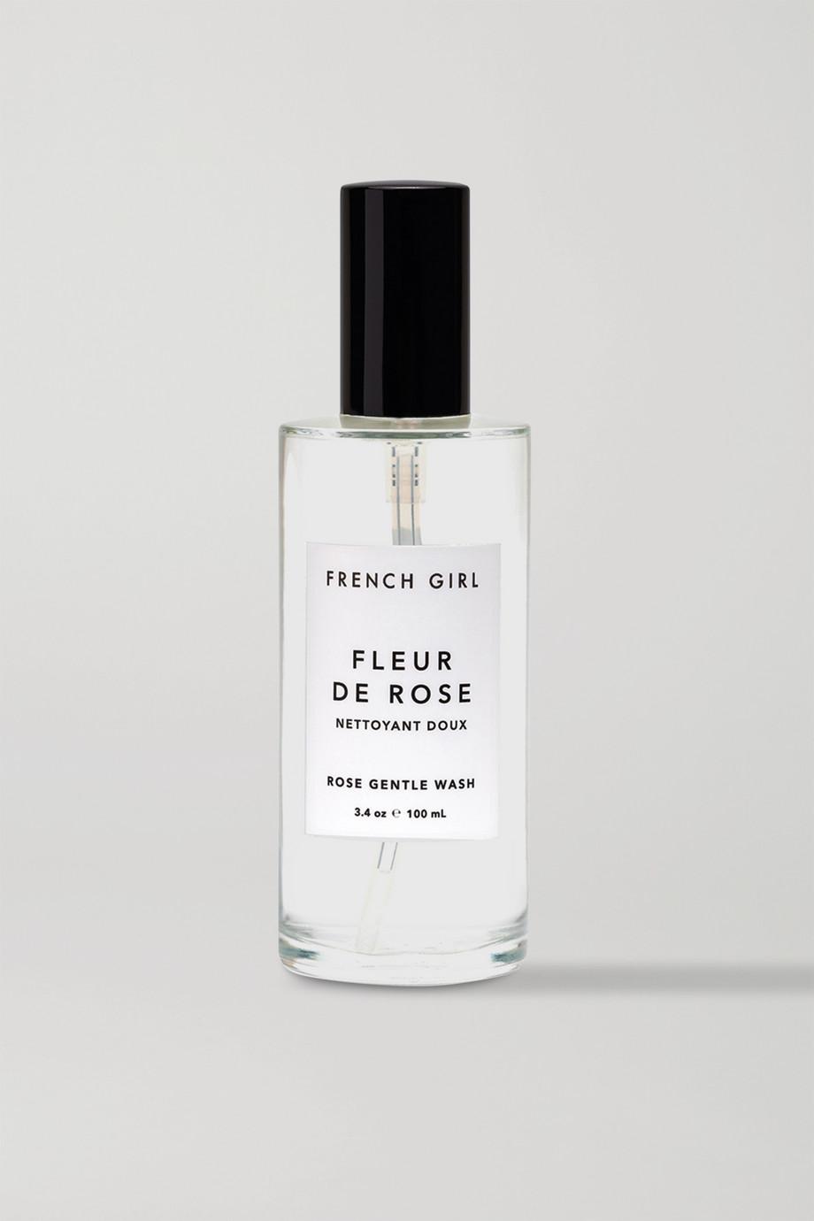 French Girl Organics Fleur De Rose Gentle Wash, 100ml