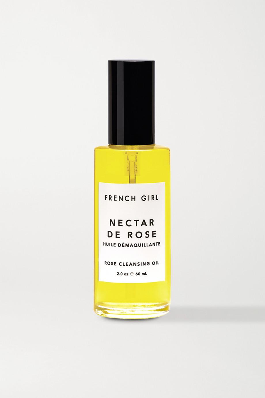 French Girl Organics Nectar De Rose Cleansing Oil, 60ml