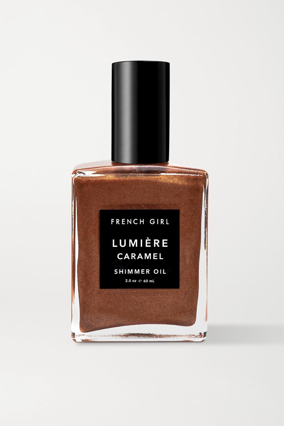 French Girl Organics Lumière Caramel Shimmer Oil, 60ml