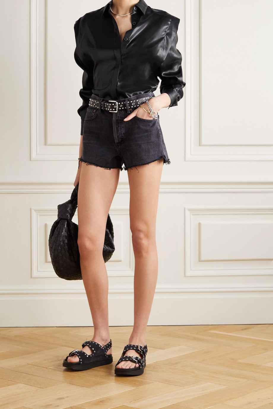 Isabel Marant Silk-satin blouse