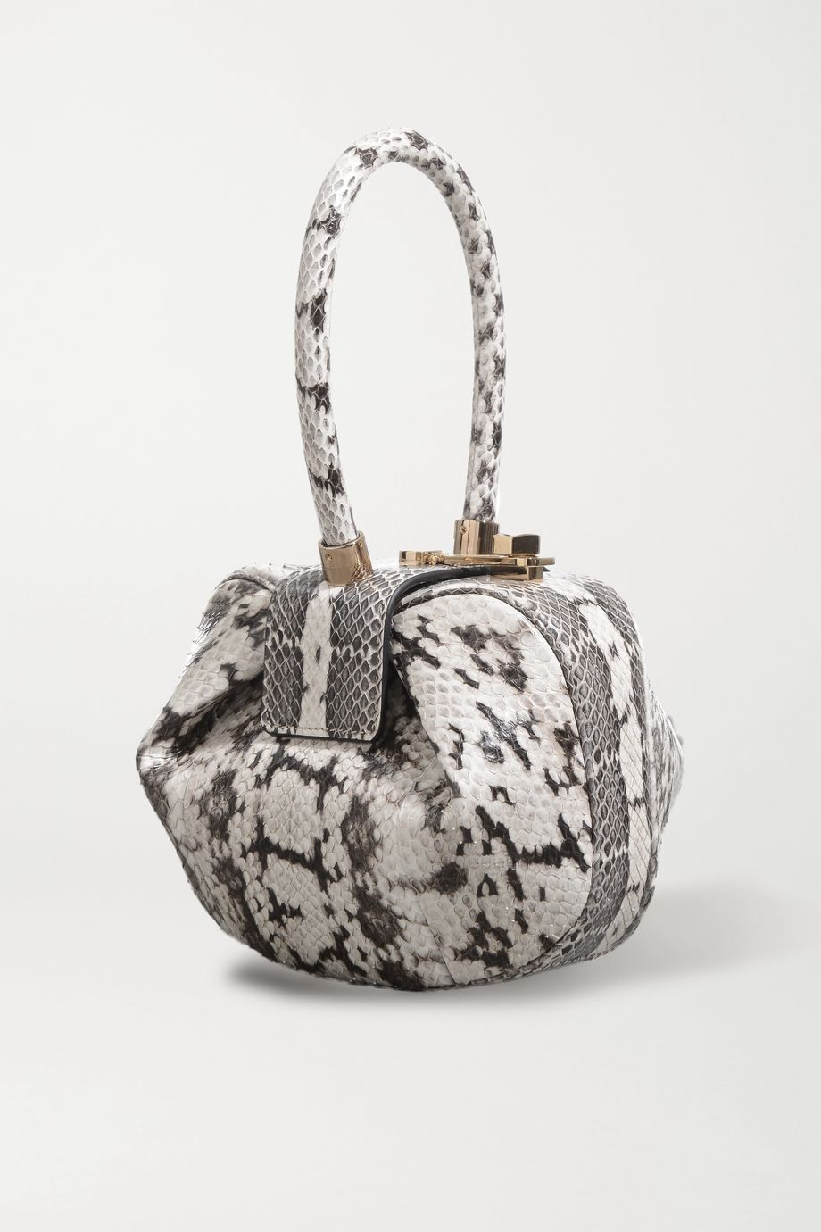 Gabriela Hearst Demi mini watersnake tote
