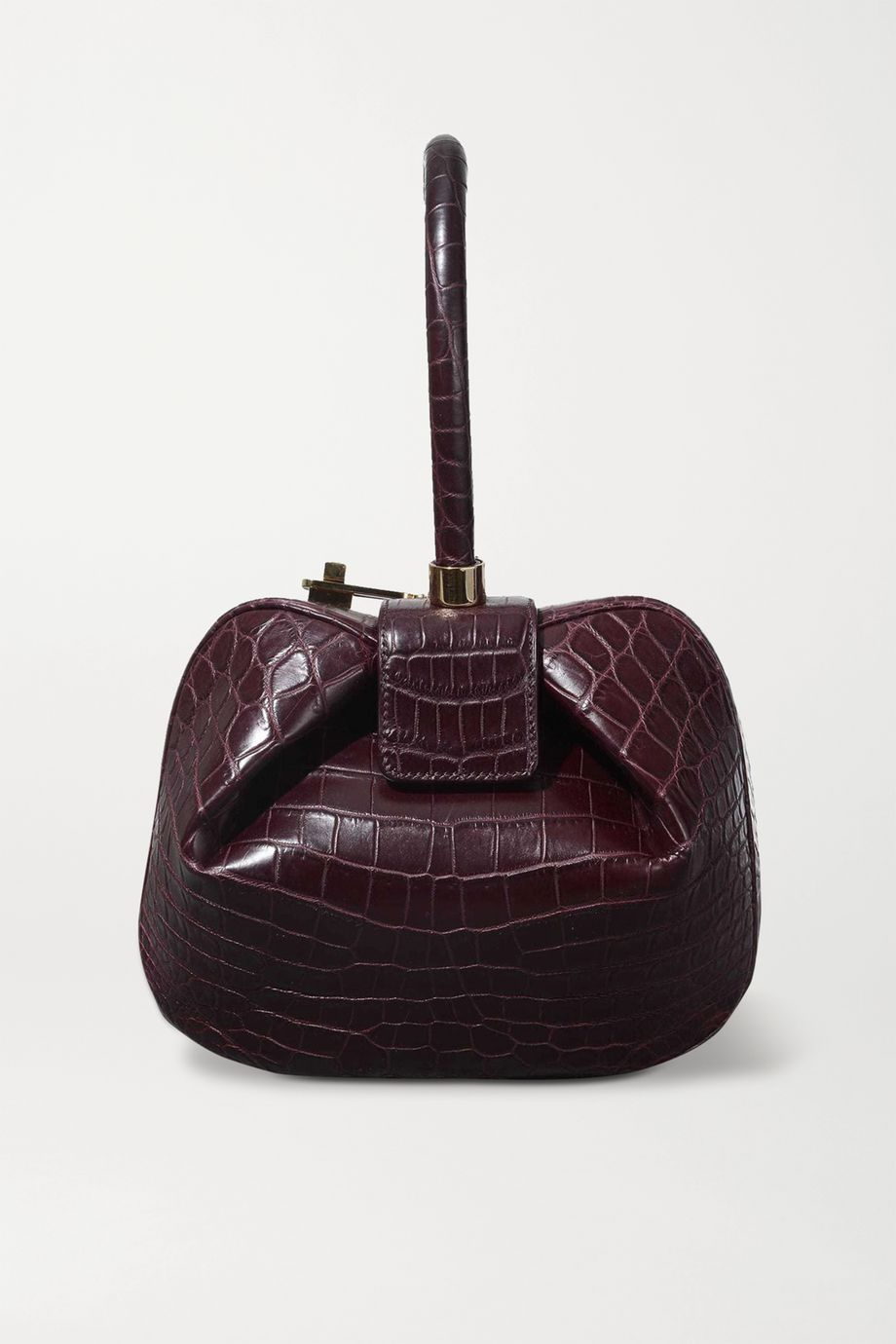 Gabriela Hearst Demi mini crocodile tote