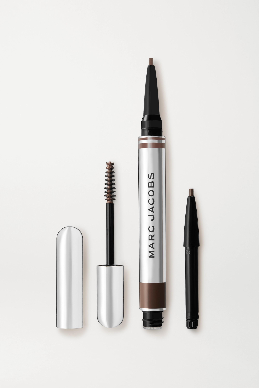 Marc Jacobs Beauty Brow Wow Duo – Medium Brown – Augenbrauen-Duo