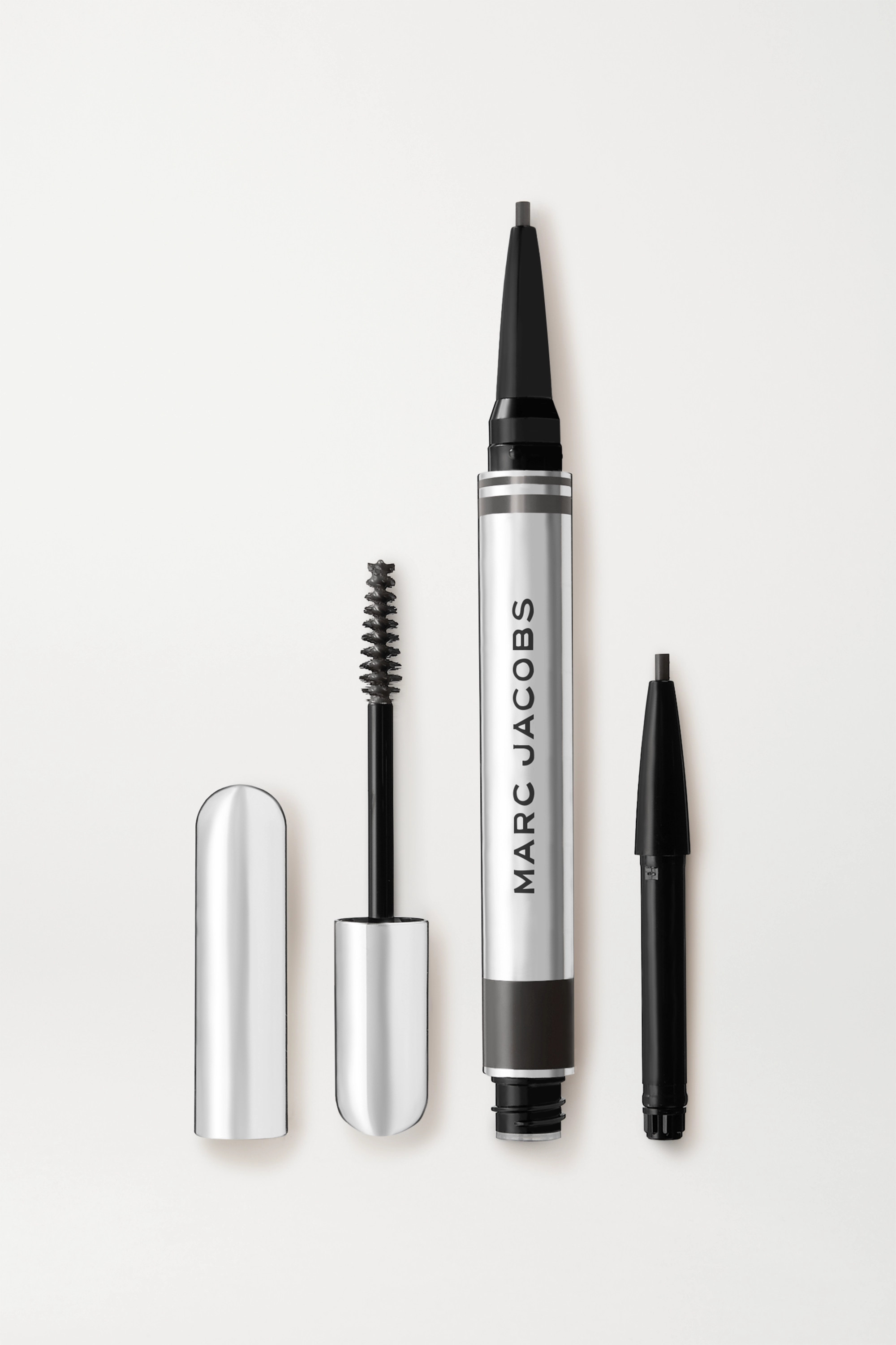 Marc Jacobs Beauty Brow Wow Duo – Black – Augenbrauen-Duo