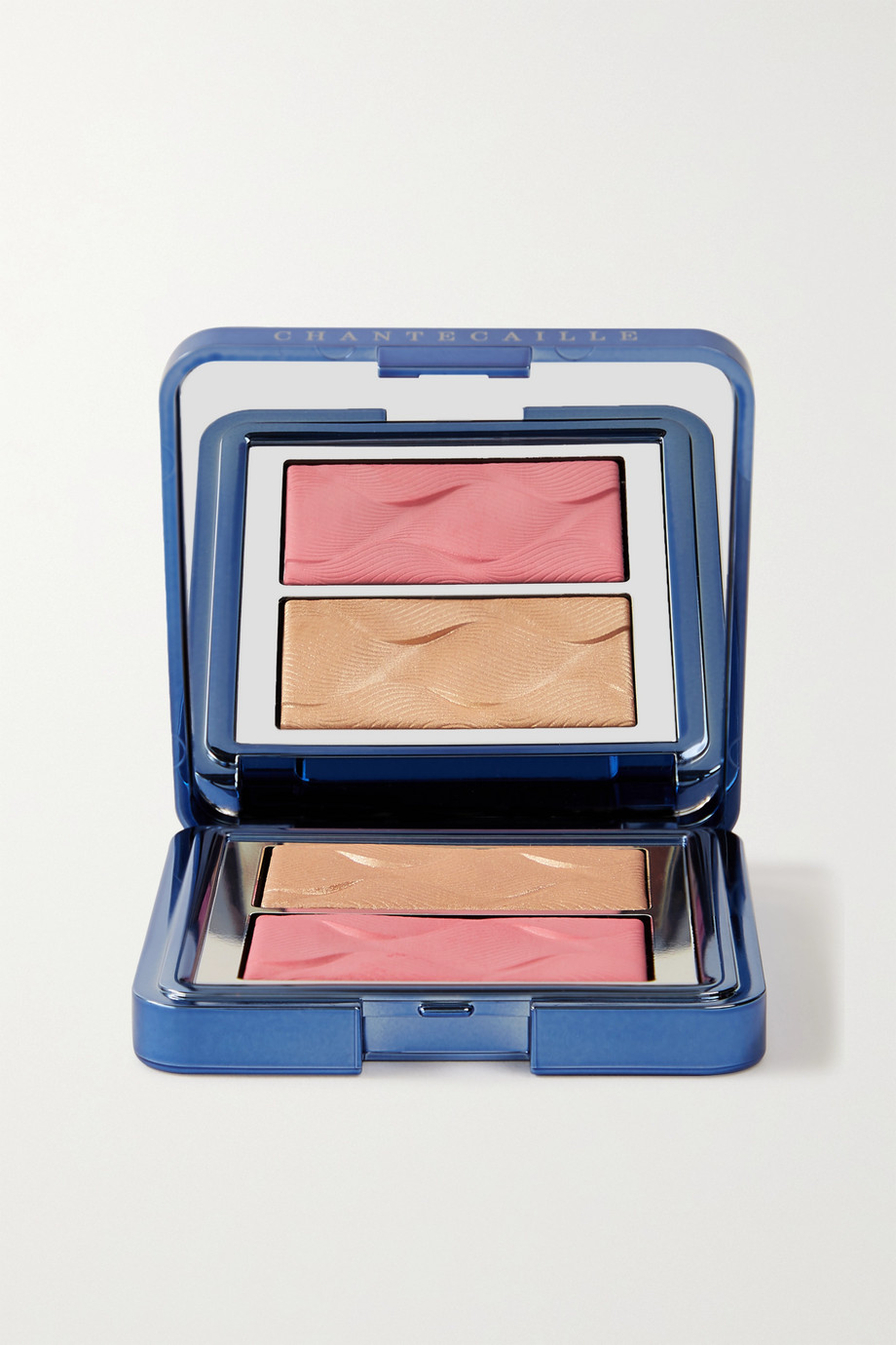 Chantecaille Radiance Chic Cheek and Highlighter Duo – Rose Whale Shark – Rouge und Highlighter