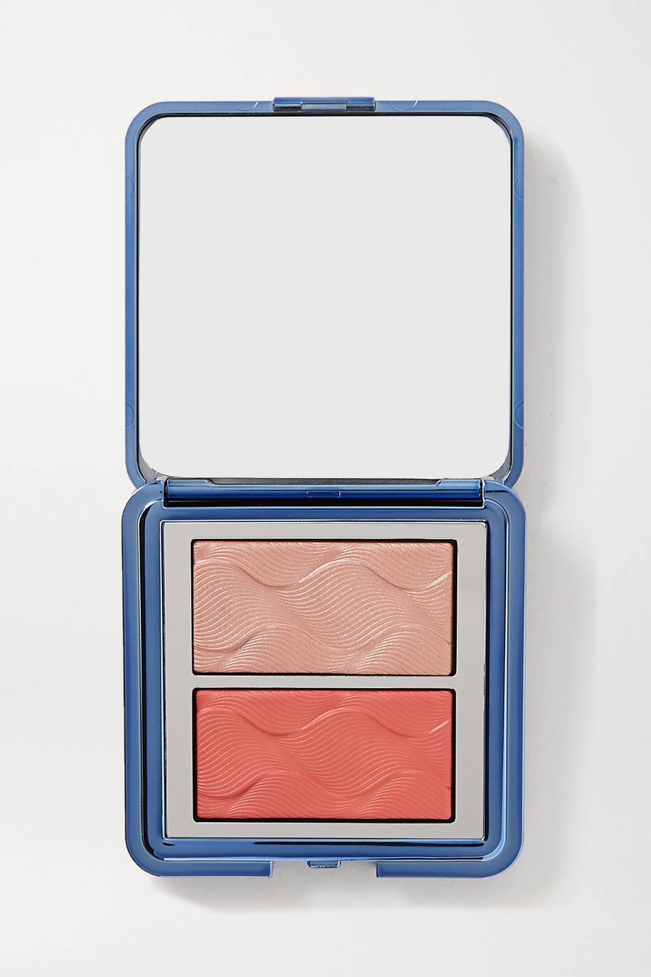 Chantecaille Radiance Chic Cheek and Highlighter Duo - Coral Manta Ray